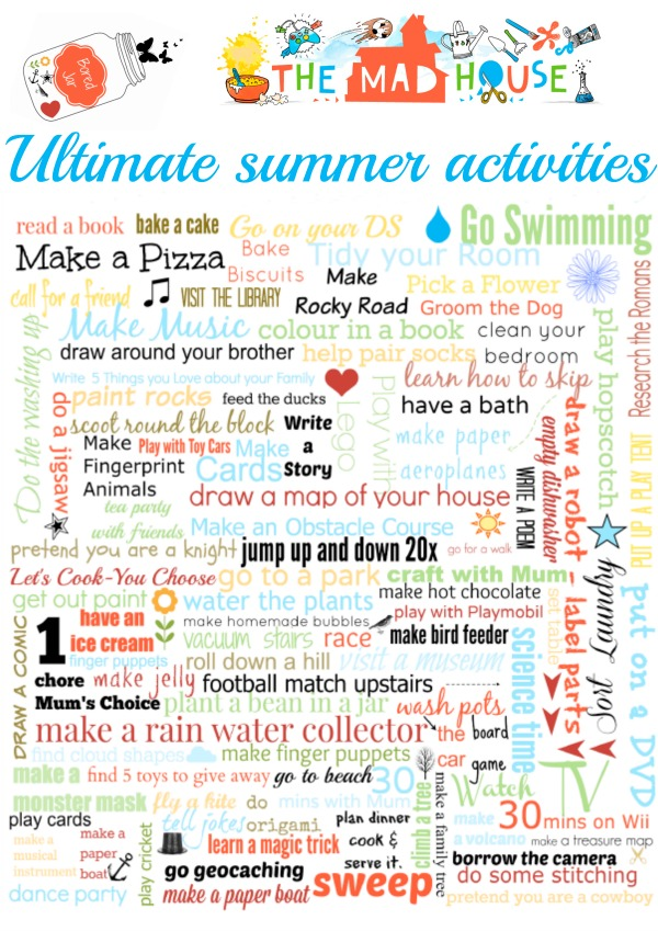 ultimate summer activities image