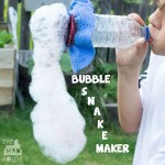 How to make a bubble snake maker
