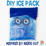 DIY Ice Pack – Sadness from Inside Out