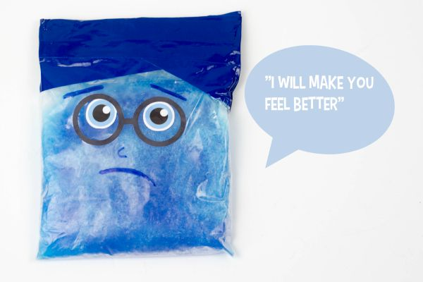 DIY sadness icepack