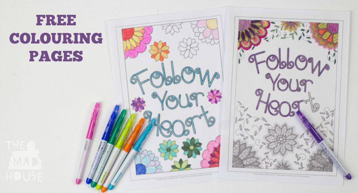 free colouring pages facebook