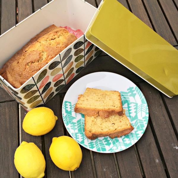 madeira cake square
