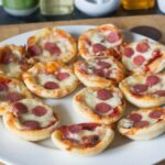 Mini Pizza Bites – cooking with kids