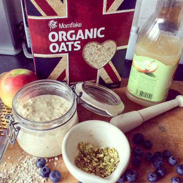 Bircher Muesli, the original overnight oats
