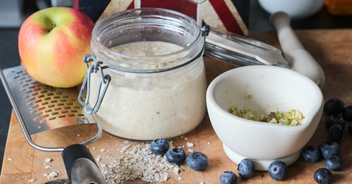 overnight oats - bircher museli