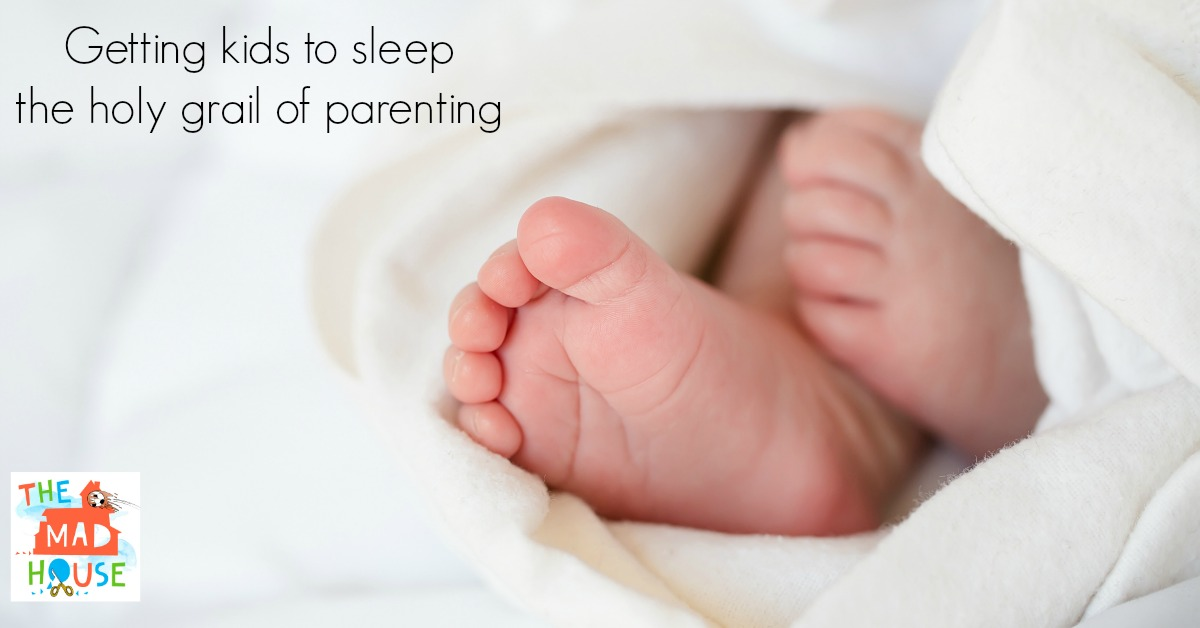 getting kids to sleep, the holy grail of parenting