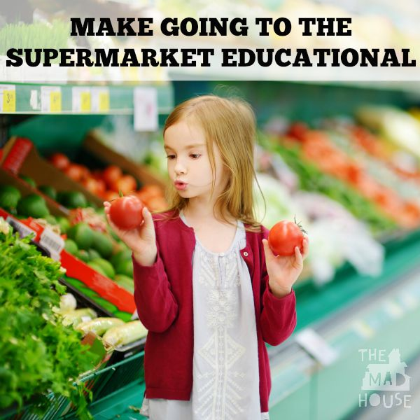Make going to the supermarket educational