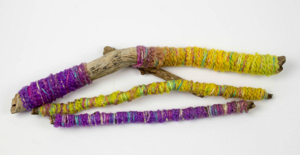 yarn wrapped sticks facebook