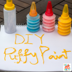 Super Sensory Book Tour – DIY Puffy Paint