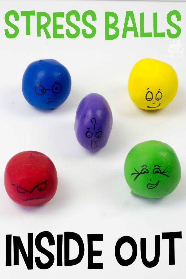 Inside Out stress balls po