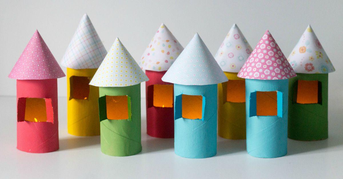 cardboard tube houses facebook
