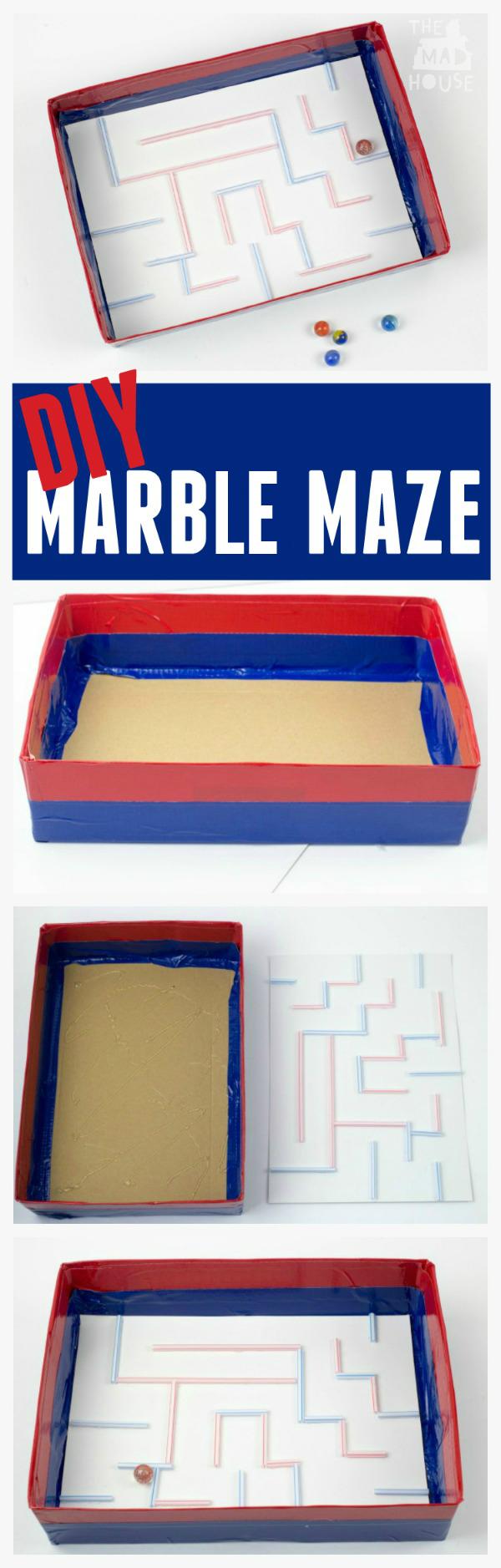 DIY marble maze