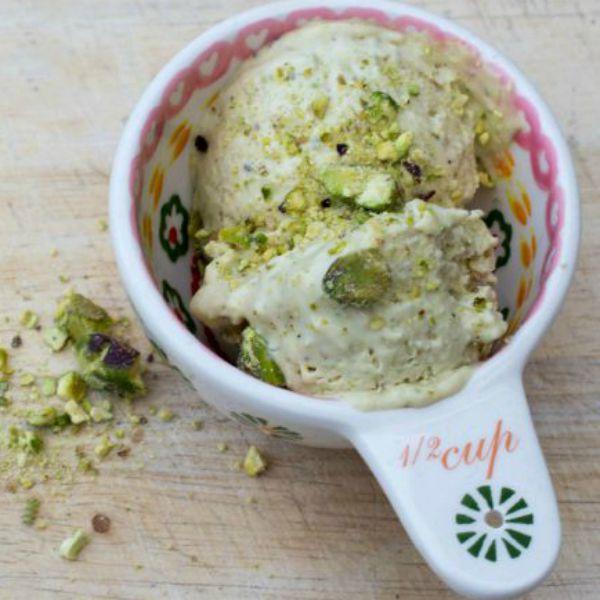 no churn pistachio ice cream 1