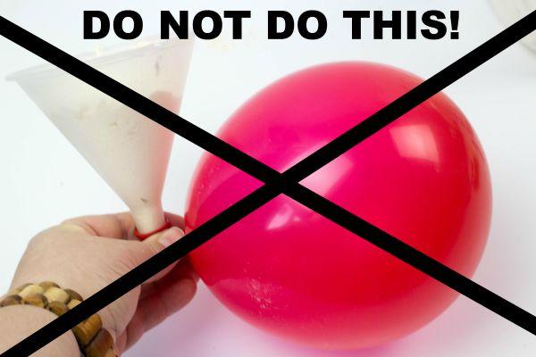 stress ball do nots