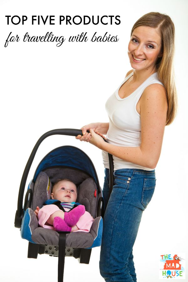 Top five products for traveling with babies