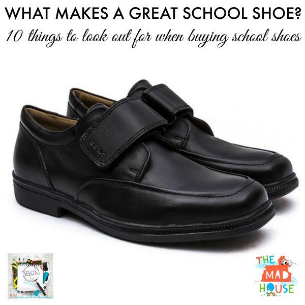 what makes a great school shoe
