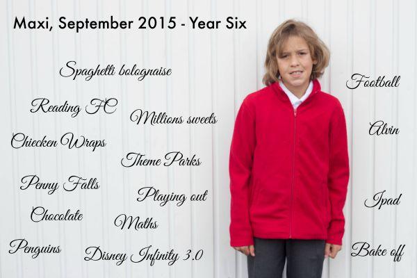 Maxi year six