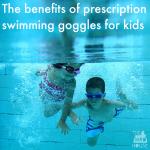 Prescription swimming goggles for kids