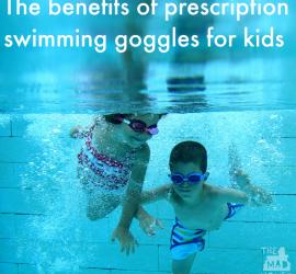 The benefits of prescription swimming goggles for kids