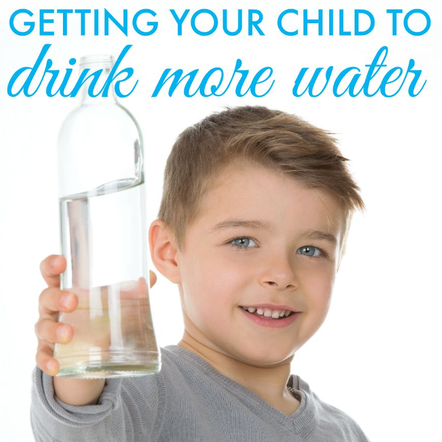 getting your child to drink more water