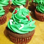 The UK's Best Festive Cake – Christmas Tree Cupcakes