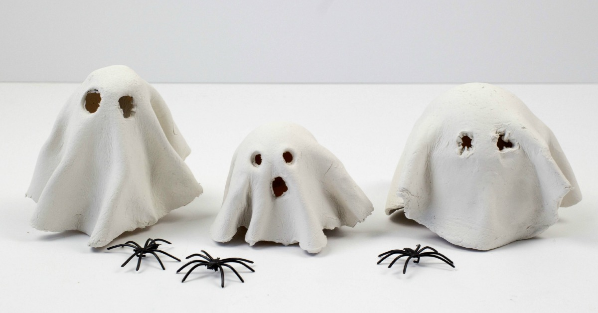 Clay Ghost Tealight