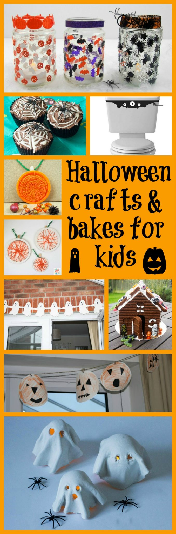 Halloween crafts and bakes for kids