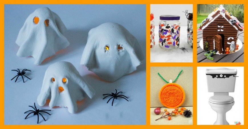 Halloween crafts and ideas for kids