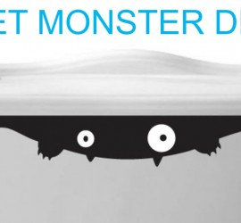 Toilet Monster Decal