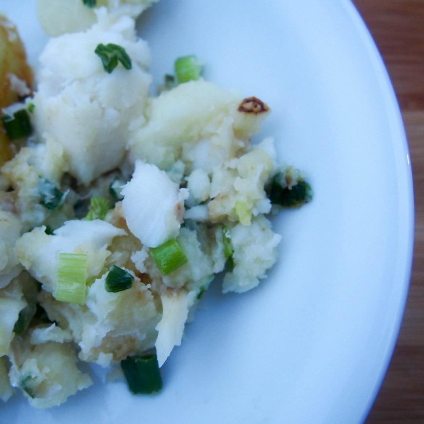 Cod and Potato Hash