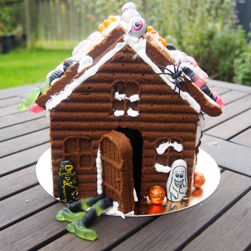 Haunted gingerbread house - Have a Halloween at home that is fun for all with our spooky yet simple Halloween activities and crafts to do with the kids this half term.