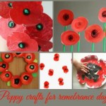 11 more Poppy crafts for Remembrance Day
