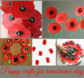 11 poppy crafts for remembrance day