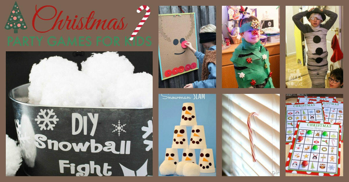 Fun Kids Christmas Party Games
