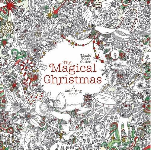 christmas colouring books for adults