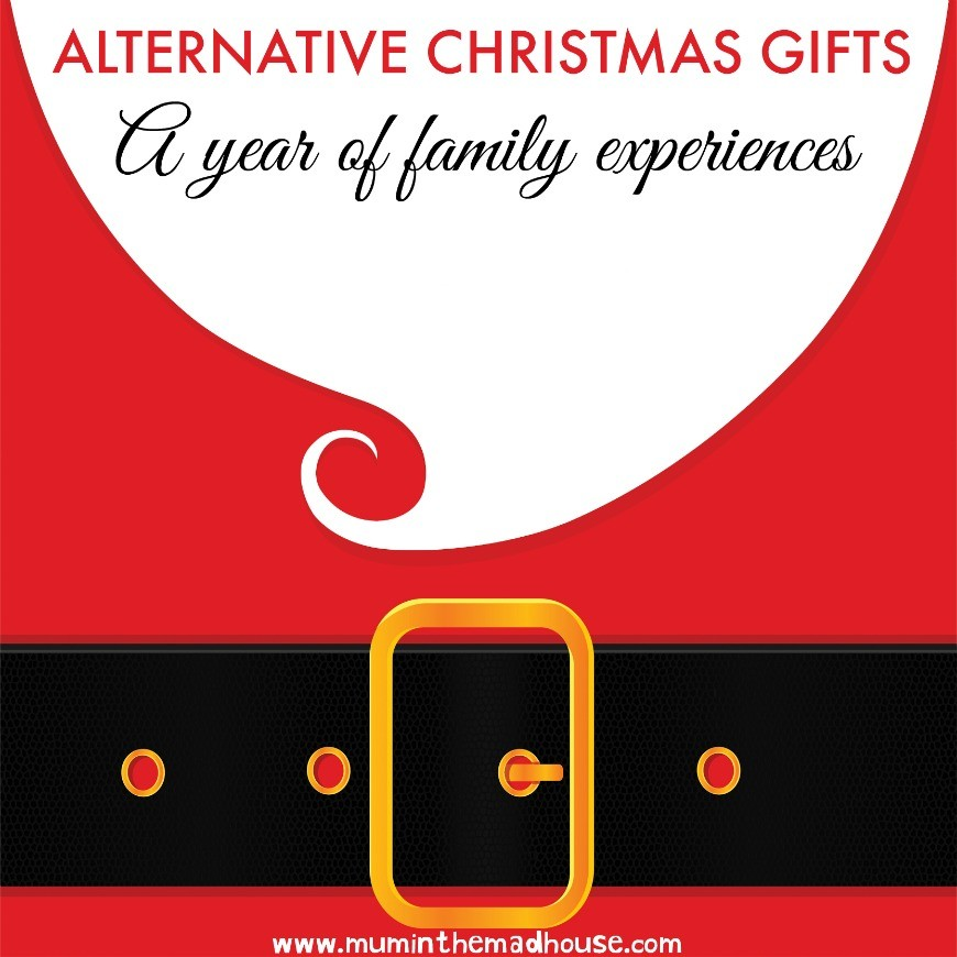 Alternative Christmas gifts - A year of family experiences
