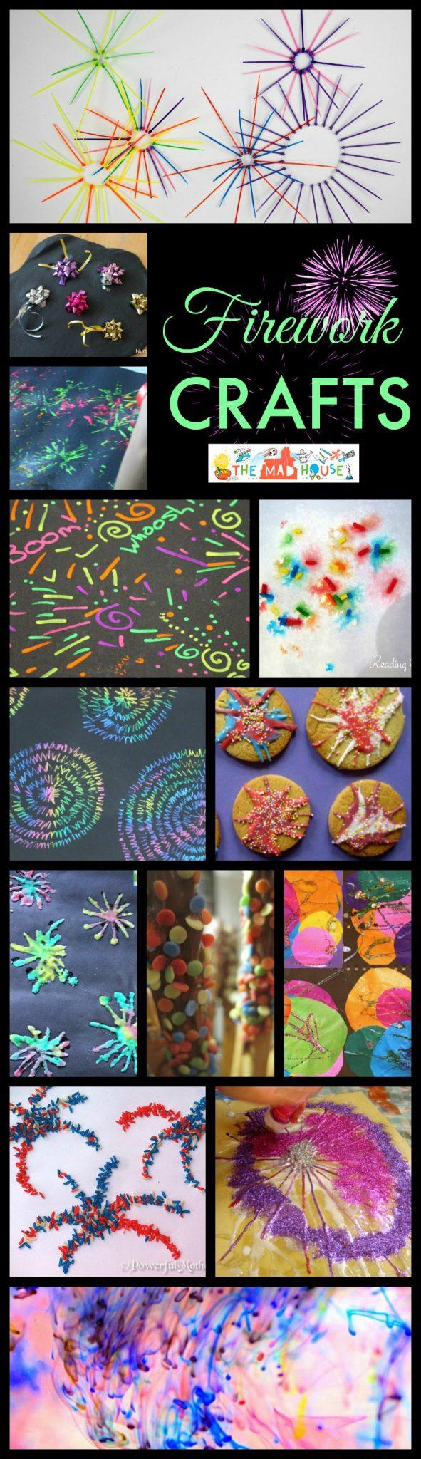 Firework crafts and treats roundup