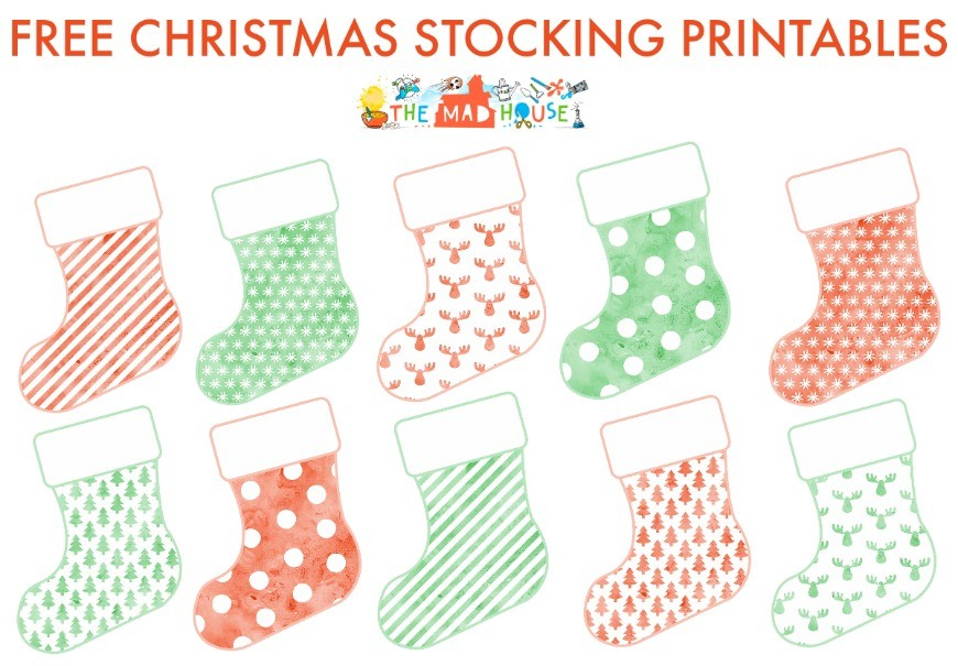 picture about Printable Stockings named Introduction Functions of Kindness Cost-free Printables - Mum Inside The Madhouse