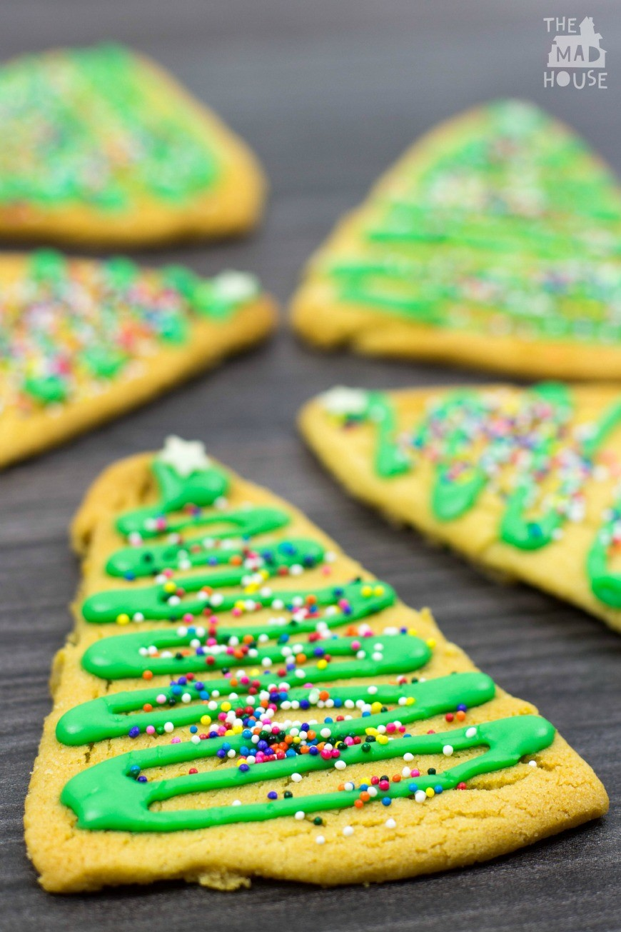 Gingerbread Christmas Tree Cookies - a simple recipe perfect for ...