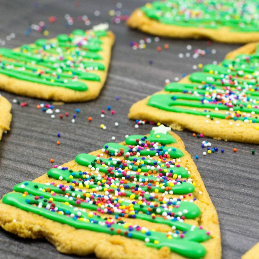 Gingerbread Christmas Tree Cookies A Simple Recipe Perfect For Cooking With Kids
