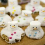 Melting Snowmen cookies – cooking with kids