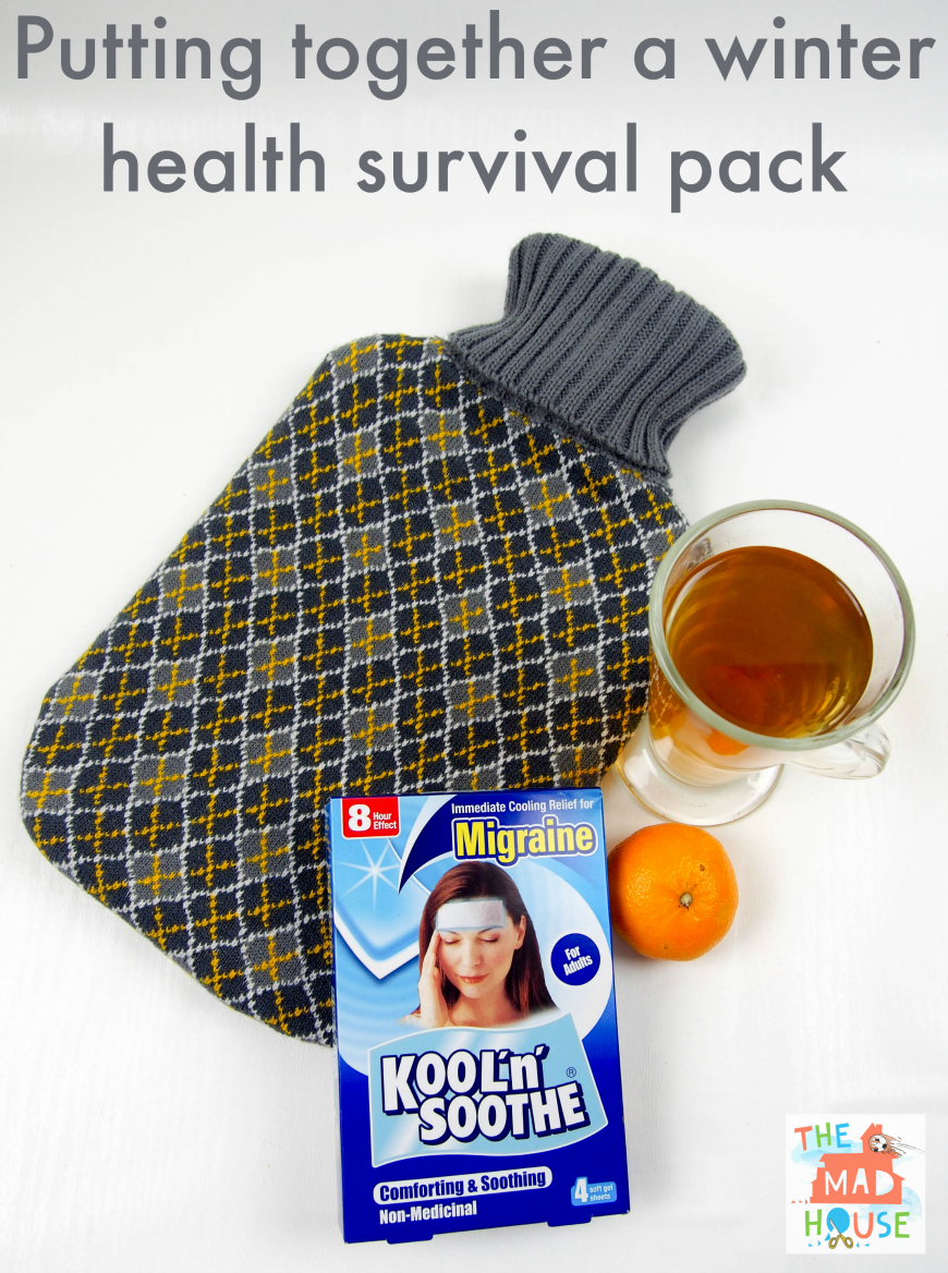 Putting together a winter health survival pack
