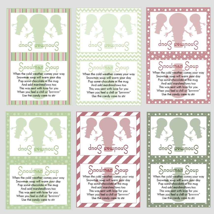 picture about Snowman Soup Printable Tag identified as Snowman Soup and cost-free printable labels - Mum In just The Madhouse