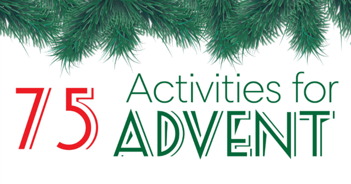 Ultimate advent activity list