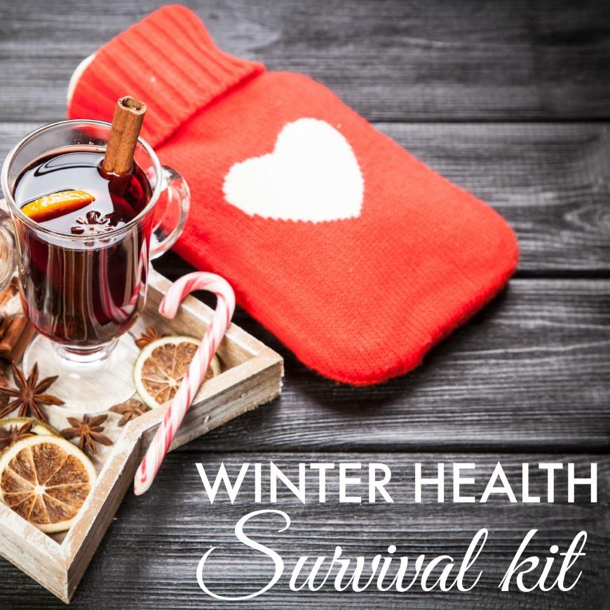winter health survival pack