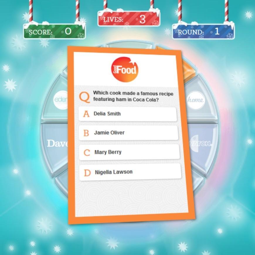 Christmas TV quiz