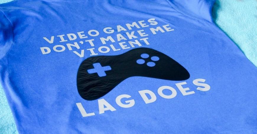 DIY lag kills tshirt