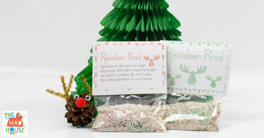 DIY Magic Reindeer Food