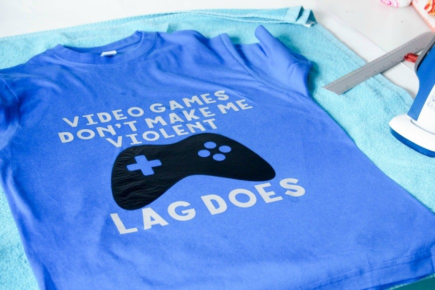 """How to make your own """"Lag Kills"""" T-Shirt"""