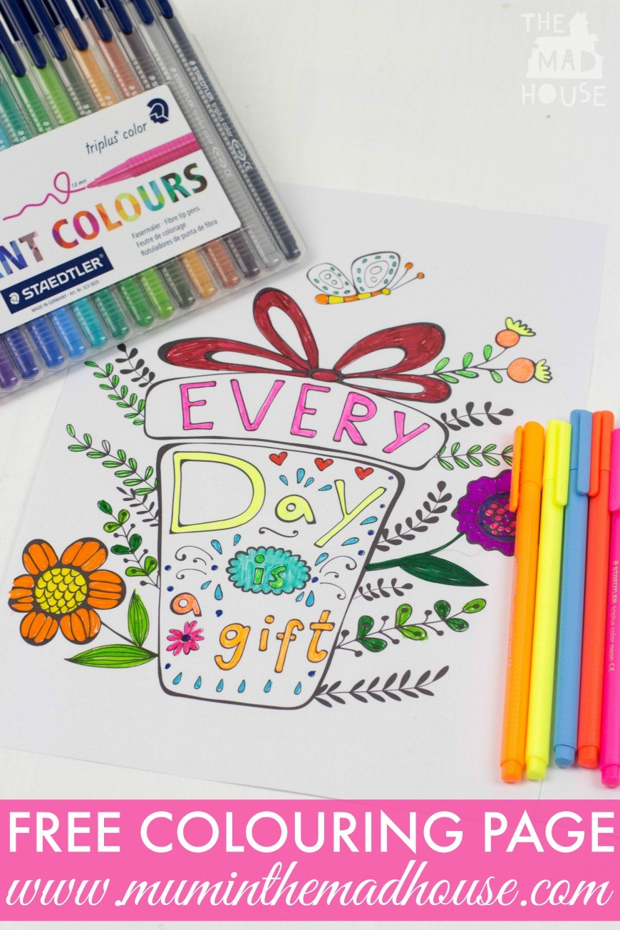 Inspirational Quotes Colouring Pages For Adults And Kids Mum In The Madhouse